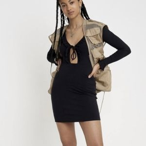 NWT Urban Outfitters Lace Up Dress size m